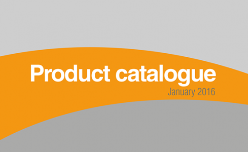 New product Catalogue 2016