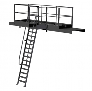 LADDER AND WALKWAY